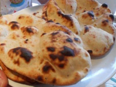 Pure Punjabi Naan Bread Meal Kit sachet - make your own naan bread at home.