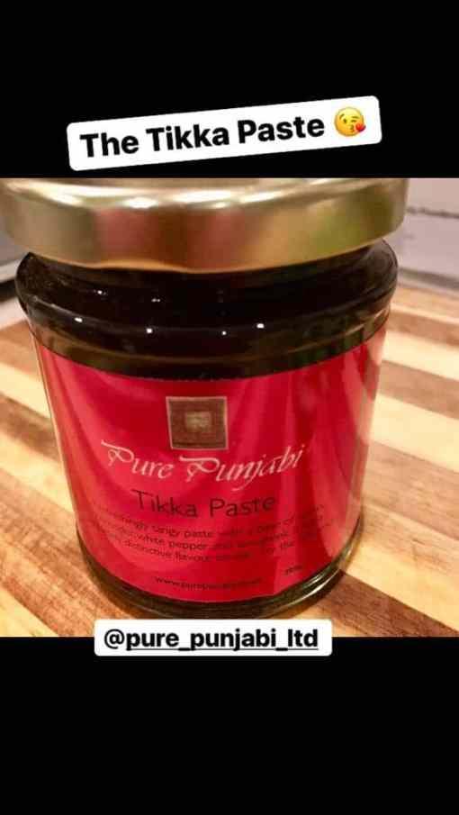 David Swann Pure Punjabi Tikka Paste