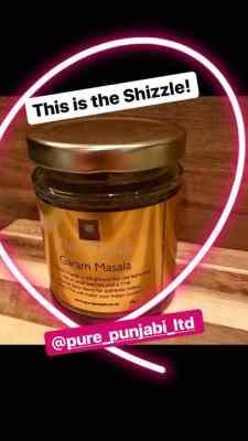 David Swann uses Pure Punjabi Garam Masala