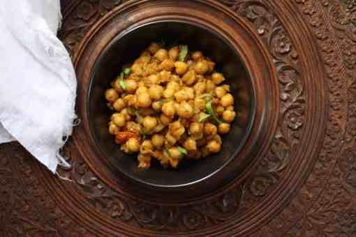 Pure Punjabi Chole (chickpea curry)
