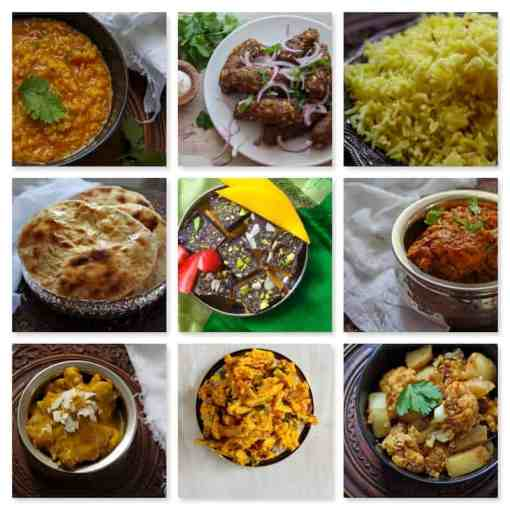 The Pure Punjabi Girls night in meal kit box dishes