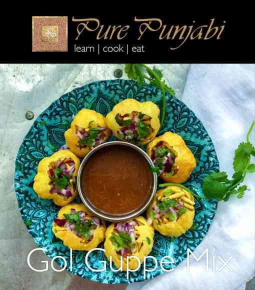 Gol Guppe Mix, Pani Puri Mix, Indian Meal Kits, Indian Meal Sachet, Indian Street Food