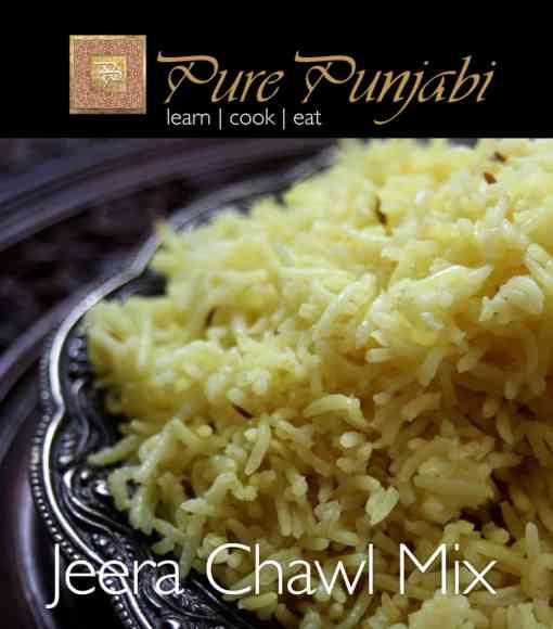 Pure Punjabi Jeera Chawl Mix, basmati rice, Indian rice, Pilau rice, Indian meal kits, purepunjabi.co.uk