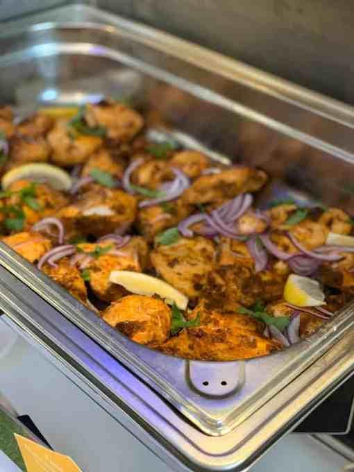 Pure Punjabi Corporate European Roadshow Helsinki culinary experience with Freshworks