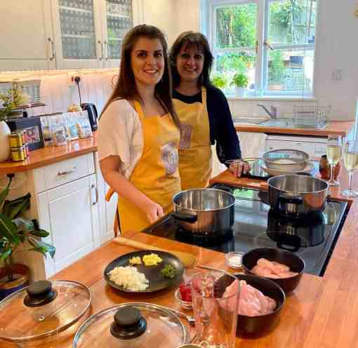 Pure Punjabi Indian Dinner Kits and free cook-along