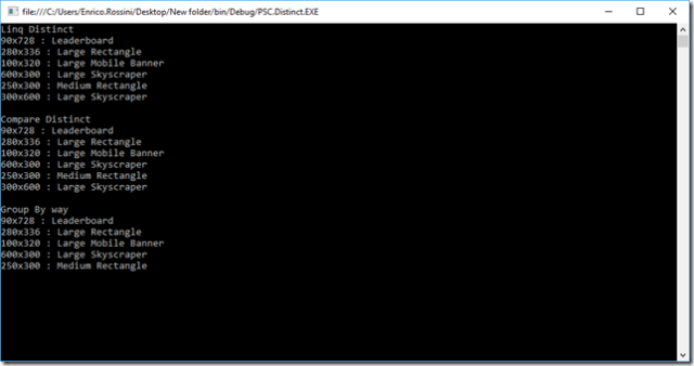 Linq-Distinct-Screenshot2
