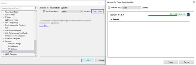 Visual-Studio-Update-Xamarin
