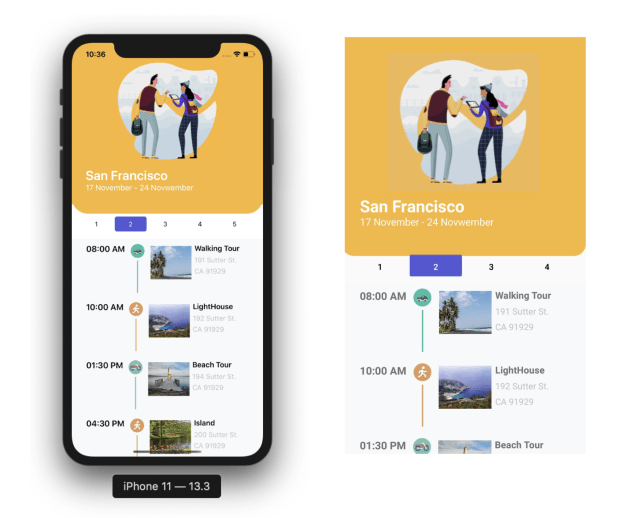 Replicate a Travel App in Xamarin Forms