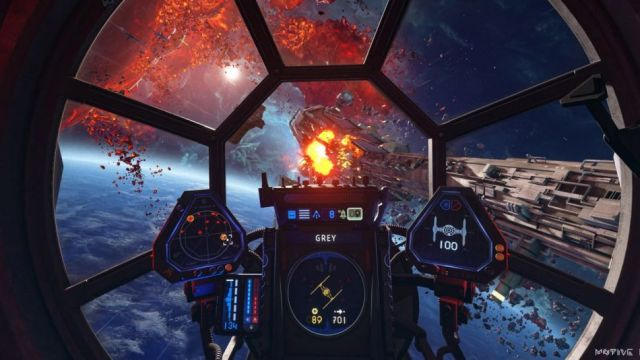 Star Wars Squadrons is an intricate dogfighter