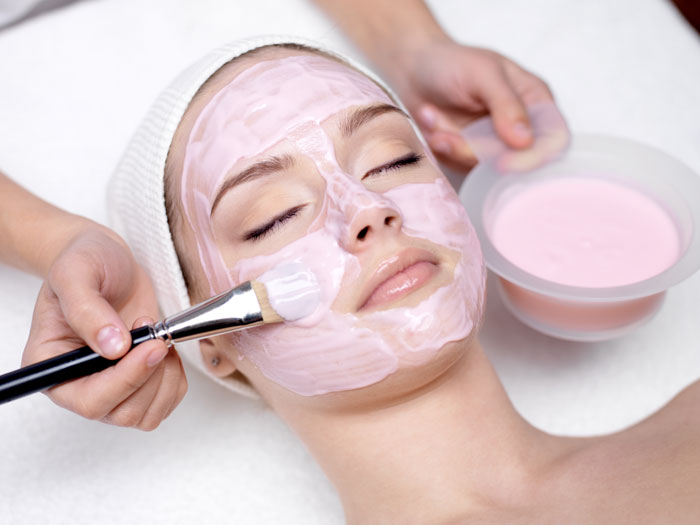 Pictures of facial treatments