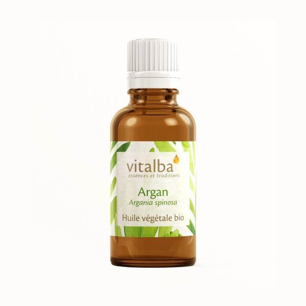Huile végétale argan vitalba