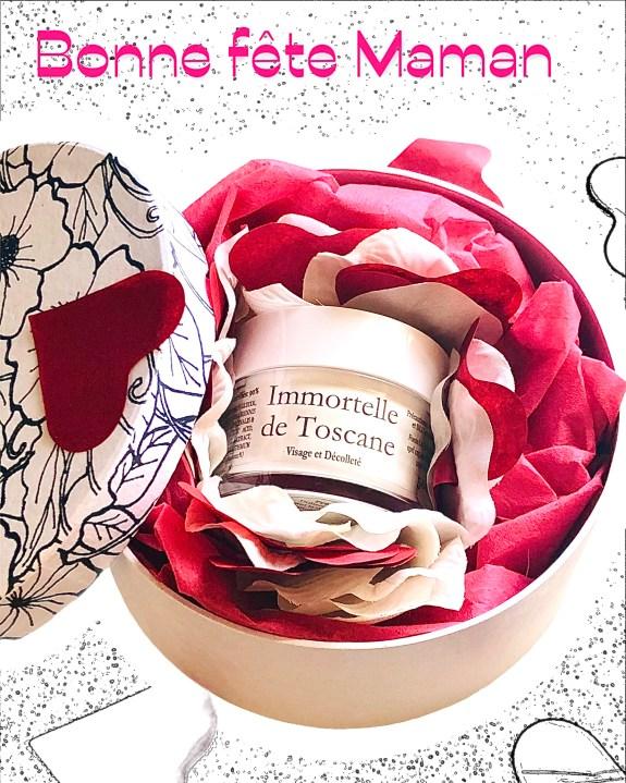 Coffret fête des mères: crème à l'immortelle de Toscane