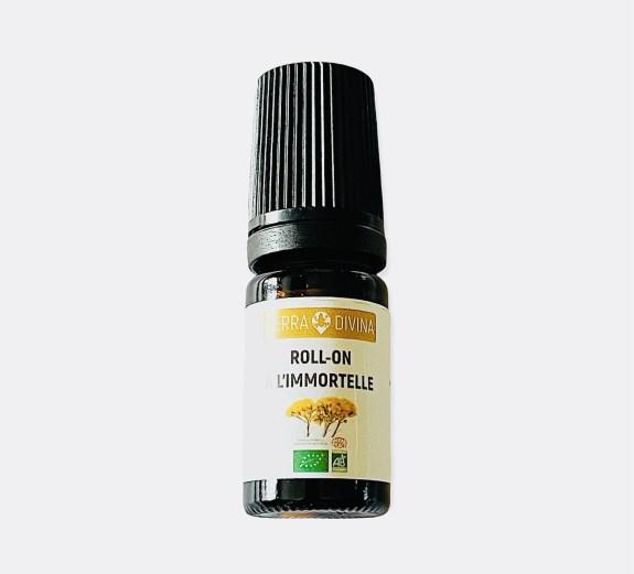 Roll on huile essentielle Immortelle (Hélichryse) bio