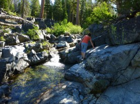 Jackson Meadows Reservoir - Passe Creek