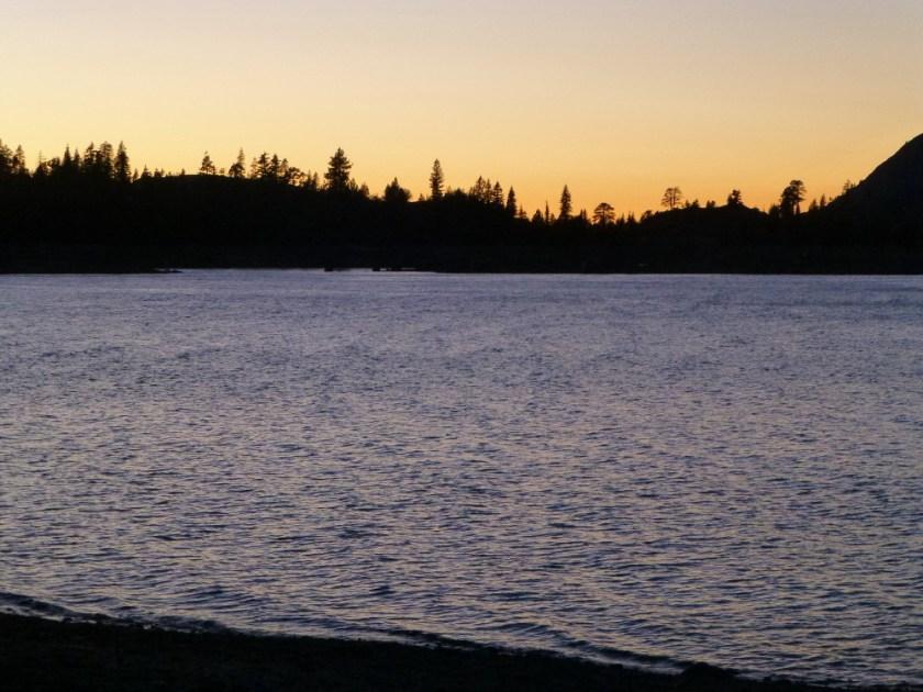 Sunset at Loon Lake