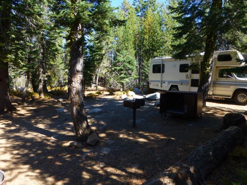 Campsite at Loon Lake
