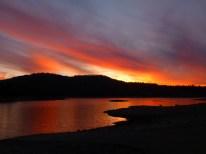 Sunset at Jackson Meadows