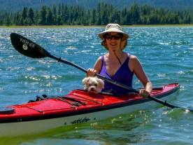 Lake Davis kayaking