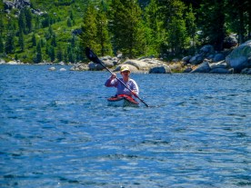 Kate at Loon Lake