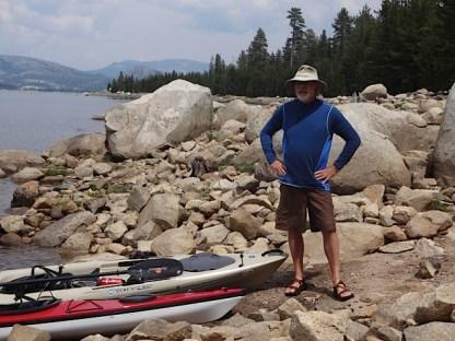 kayak fishing loon lake