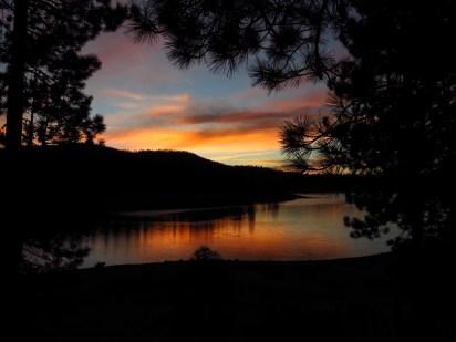 Jackson Meadows Sunset
