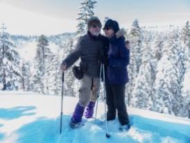 Winter in the Sierra Mtns