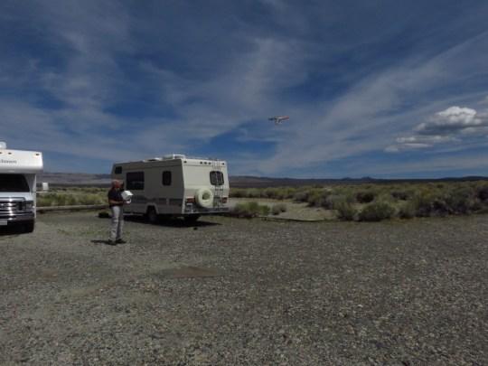 Droning near Mono Lake