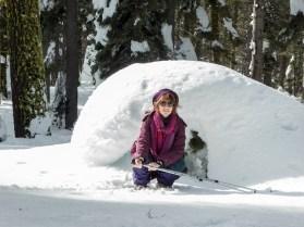 Snow Shoe in the Sierra Nevada