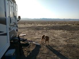 boondocking in Nevada