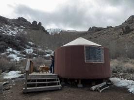 Yurt at Water Canyon