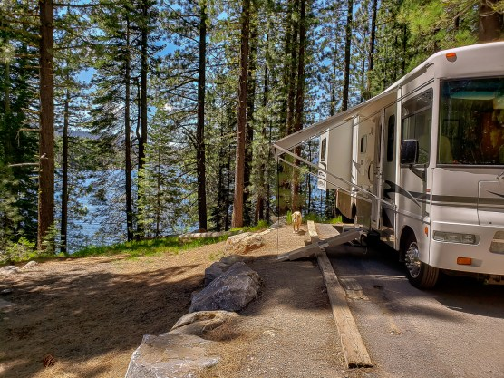 Site #34, right on the lake.