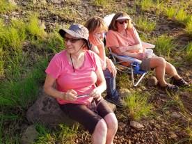 Vicki, Kate and Debbie