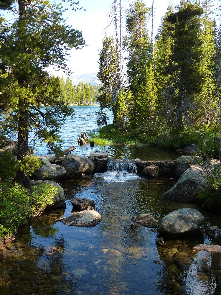 First RV Camp trip to Wrights Lake September 2011