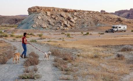 Campsite outside of Moab