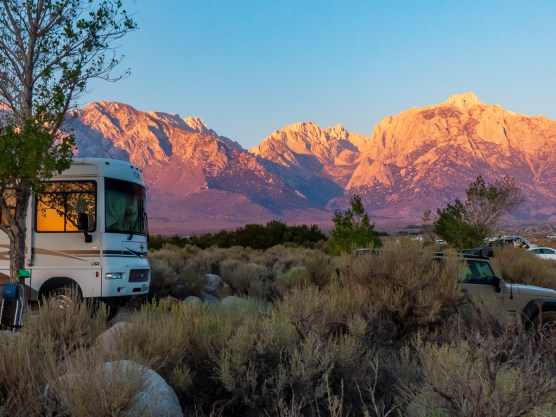 First morning under Mt. Whitney