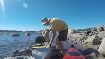 Learning to get into Kayak, not so good