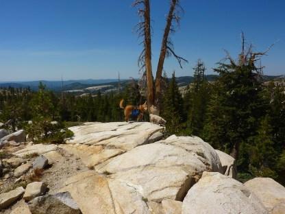 Ben and Biggs Sierra hike