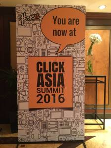 Day One @ClickAsia – Lot of insights & A Few Missed Points