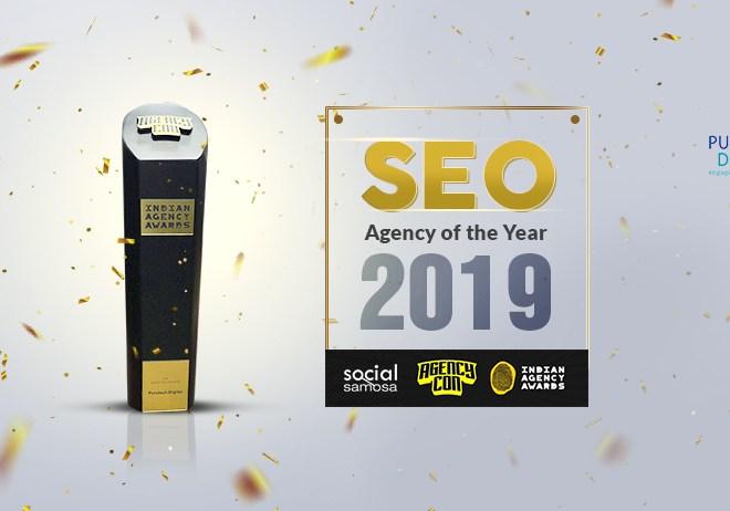 SEO Agency of the Year: Puretech Digital won Gold