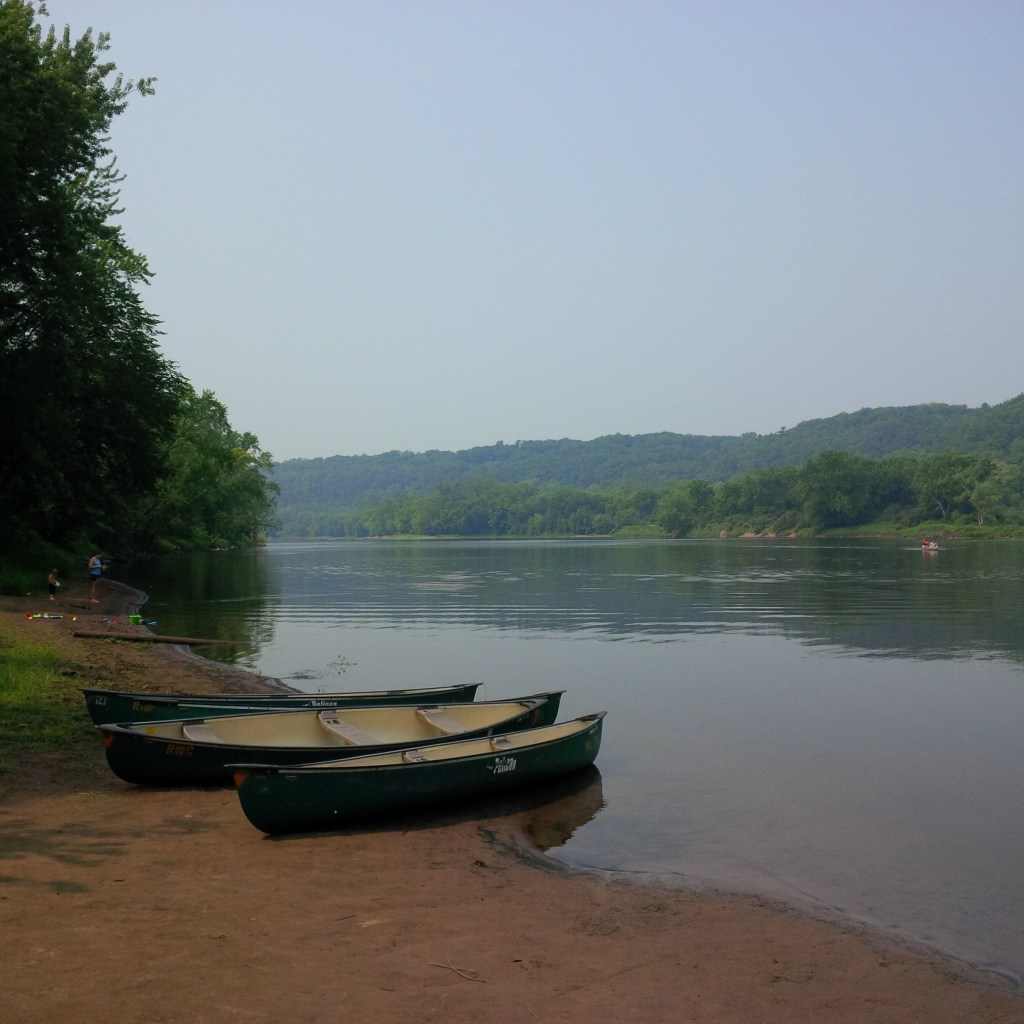Enjoying the St Croix River