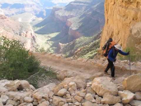 Hard Hiking on the Bright Angel Trail