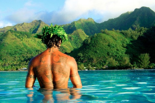A Beach Vacation to Tahiti