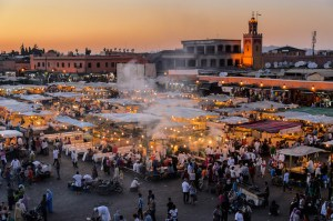Enjoying Marrakech