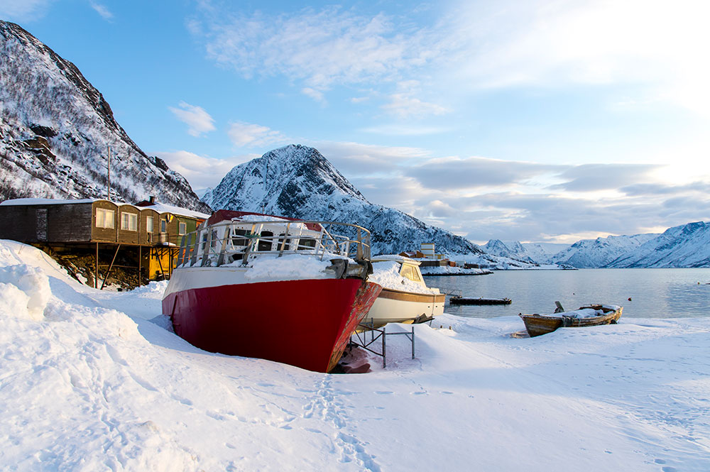 Winter Scenery in Norway