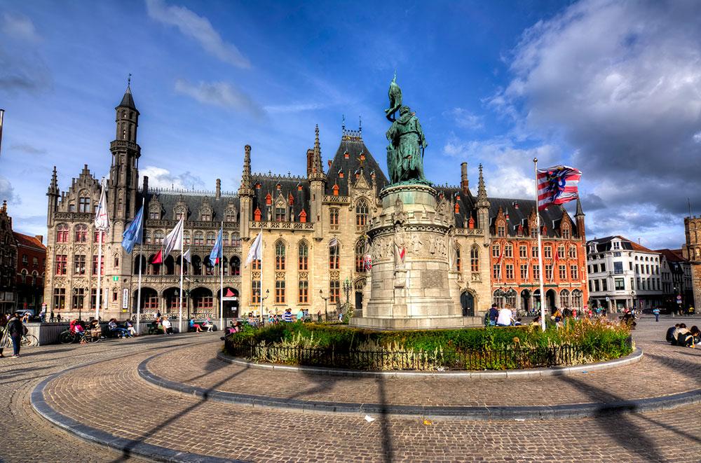 Market Square in Brugge