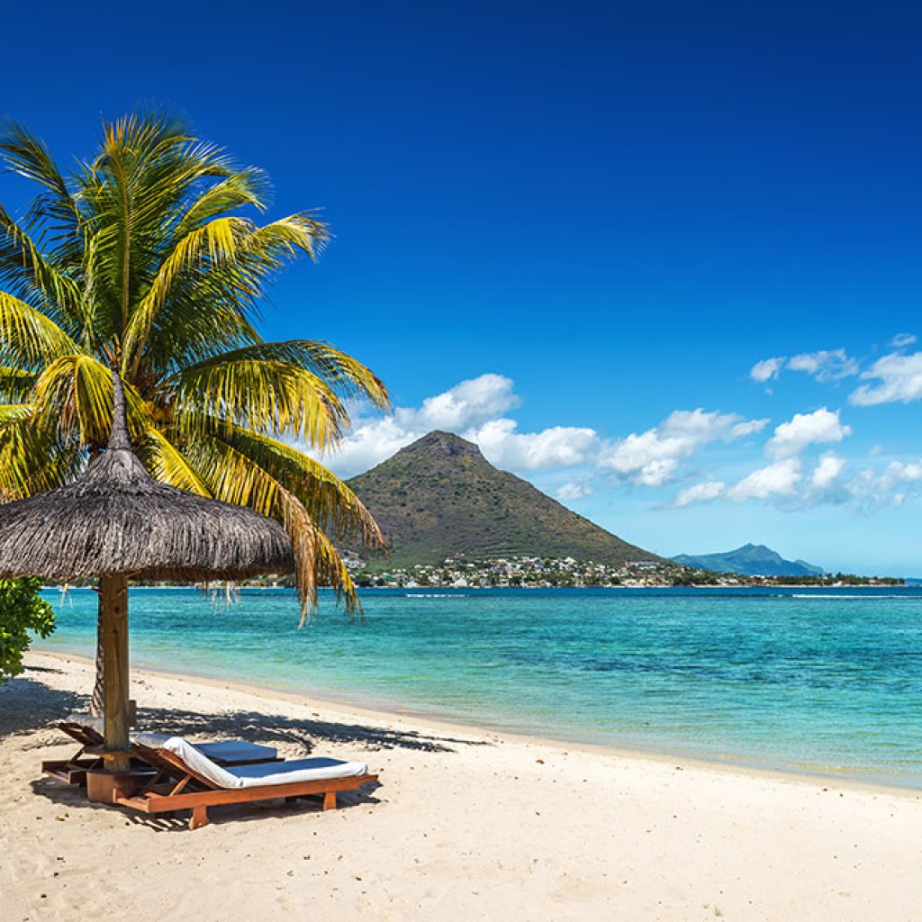 Exotic Beach: Tropical Beach In Mauritius