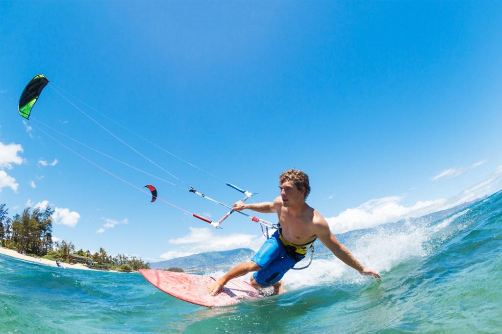 Kite Surfing in Maui