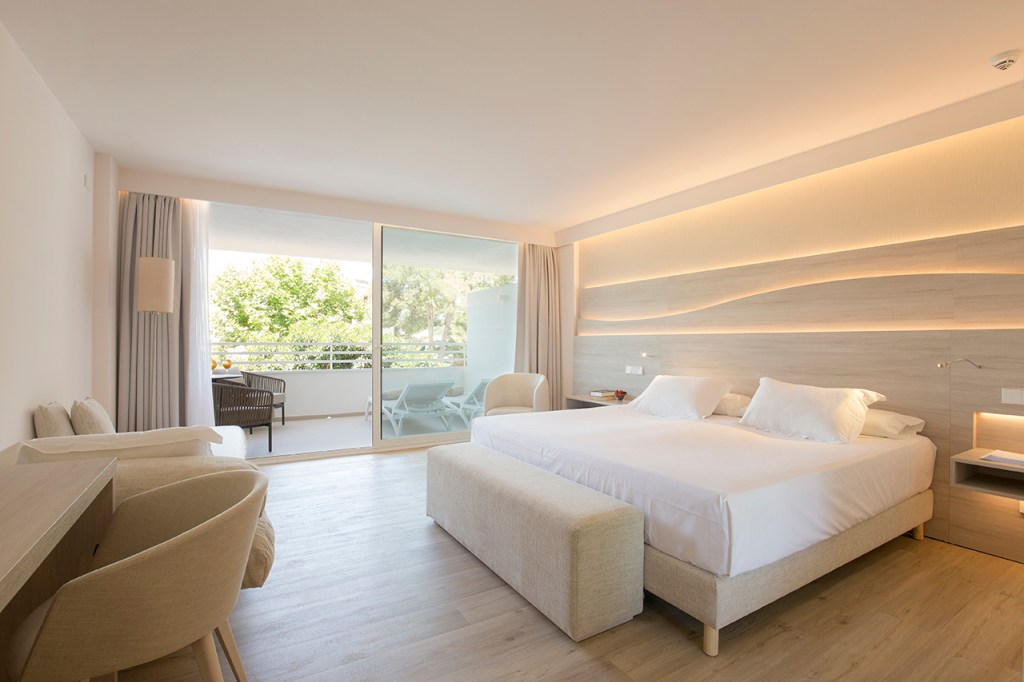 Junior Suite at the Canyamel Park Hotel & Spa