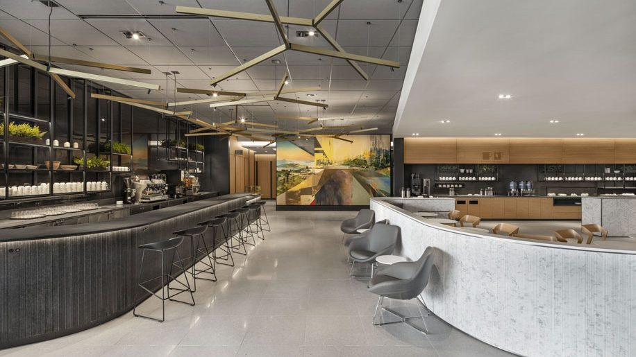 Air Canada New Lounge