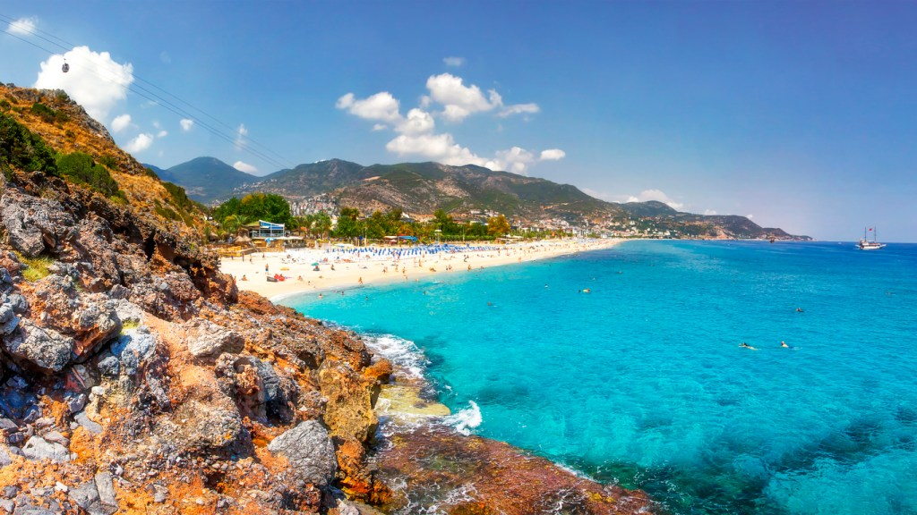 Paradise Bay in Alanya